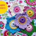 Very Easy Flowers Crochet Pattern