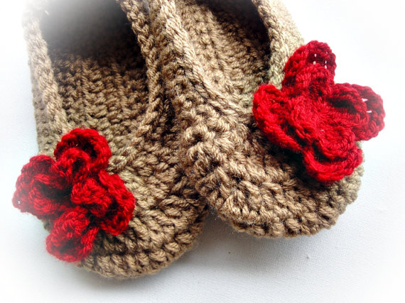 Buy Colorful Crochet Slippers / Other Colors Available