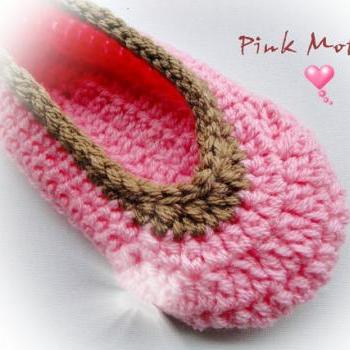Buy Sweet Crochet Slippers / Other Colors Available